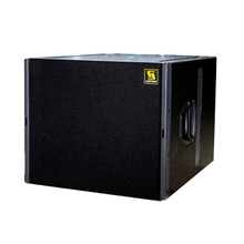 "Q-SUB Single 18 ""Pro Audio PA Subwoofer Box Diseño"