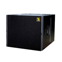 "Q-SUB Single 18 ""Pro Audio PA Subwoofer-Box-Design"