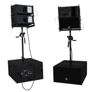 VR10 y S30 Top de 10 pulgadas y subs de 15 pulgadas Sistema Powered Line Array
