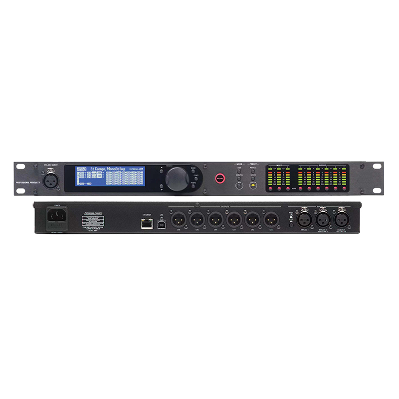 PA360 3in 6out Professional Speaker Sound Management Processor