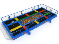 MICH Indoor Trampoline Park Design for Amusement 3070A
