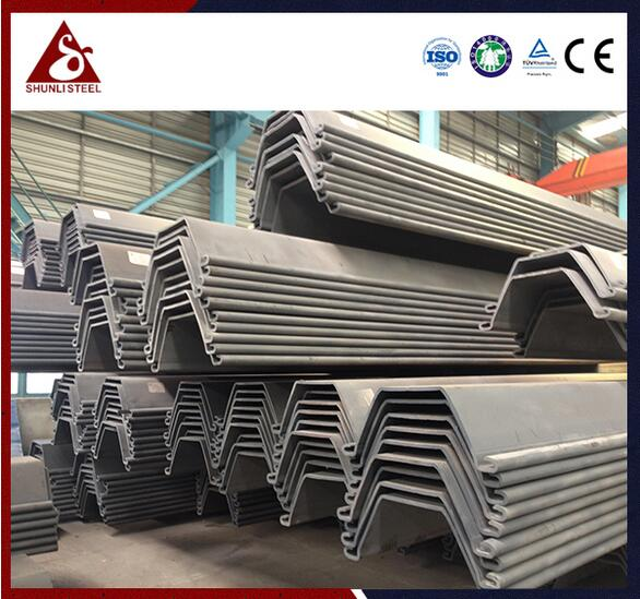 FSP 3 U sheet piling prices good which is cold rolled sheet pile