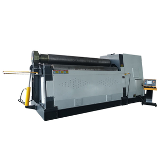 W12-20X3000 Hydraulic 4 Roller Plate Rolling Bender Machine for Steel Sheet