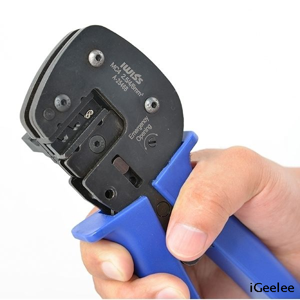 A-2546B MC4 Crimping Tool for Solar Photovoltaic MC4 Connectors