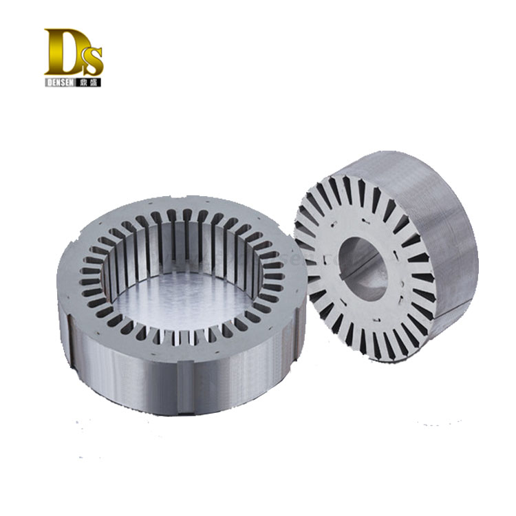 OEM Manufacture Stamping Steel Wind Generator Rotor And Stator