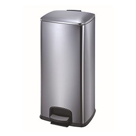 Factory Price New Stainless Steel Pedal Foot Bin for Hotel Room (30 L/KL-027)