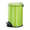 Four Colors Pedal Dustbin with Stainless Steel for Guestroom (KL-010A)