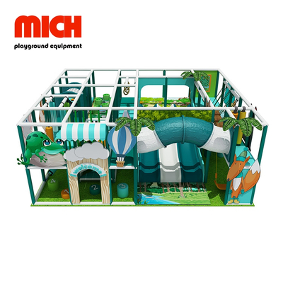 Kecil Jungle Theme Soft Indoor Playground for Kids