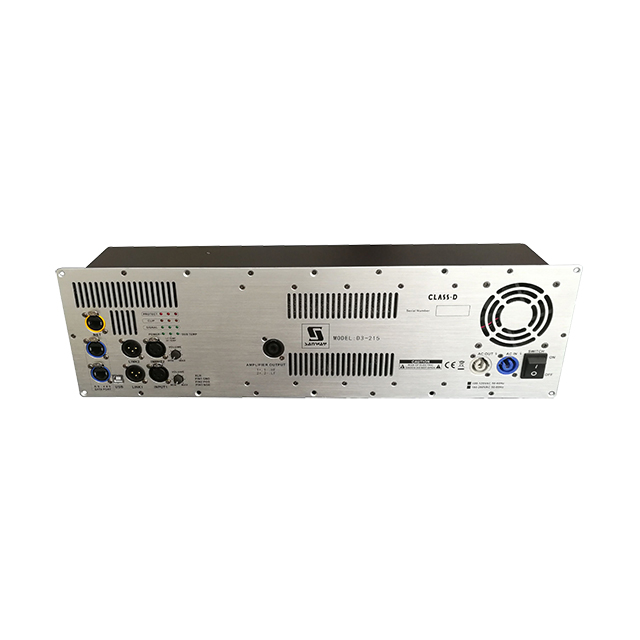 D3-215 1800W + 1800W + 900W Amplificador de placa DSP digital con Ethernet