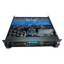 D14 7000W Stereo DSP Network Power Amplifier Dengan Fungsi Wifi