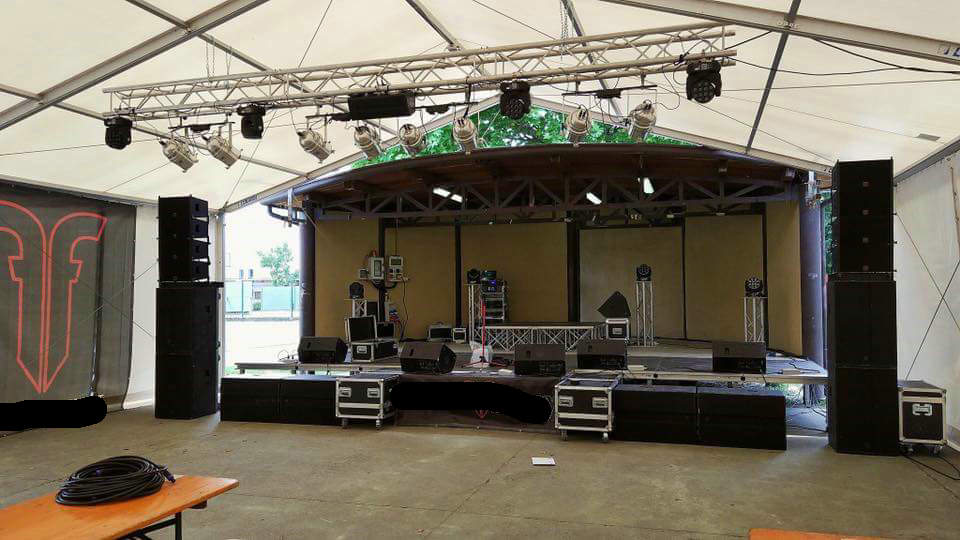 Sanway Audio VR10 Line Array