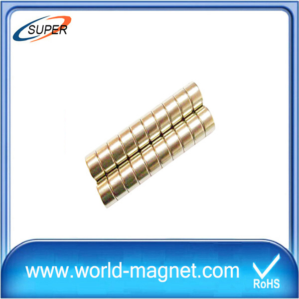 China Neodymium Cylinder Magnets for Sale