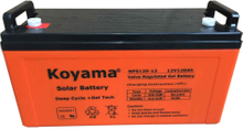 12V 120Ah Solar Gel Battery