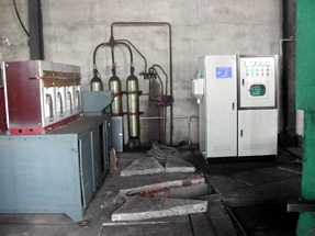 Intermediate frequency heating furnace