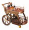 Top Grade Types of Classical Style Trolley with Nut-Brown Colour (FW-39)