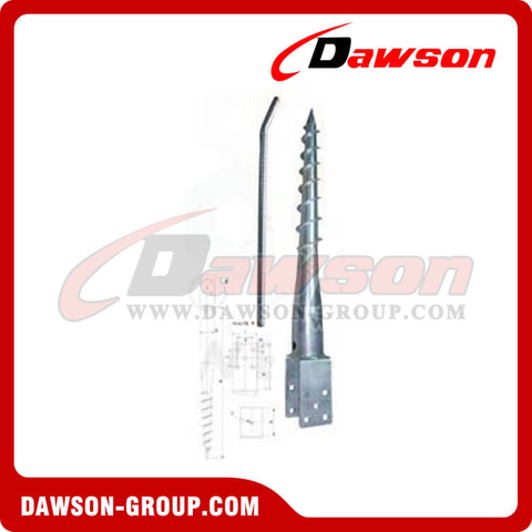 DS U91×685FL Earth Auger U Ground Pile Series