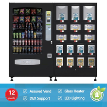 VCM-5000&BV-1700 Combo Vending Machine