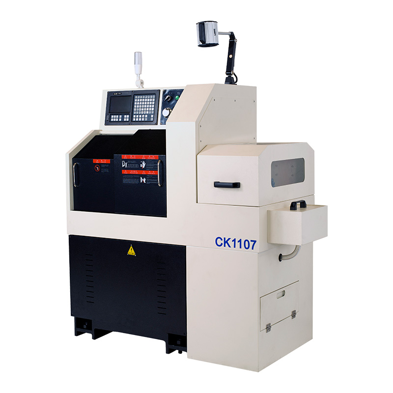High Precision Swiss Type Cnc Lathe Machine CK1107 with Automatic Feeder