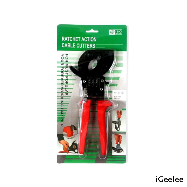 Ratcheting Wire Cutter TCR-325 for cutting copper& aluminum cable 32mm max