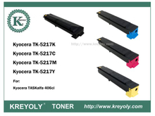 TK5215/5216/5217/5218/5219 COLOR TONER FOR TASKALFA 406CI