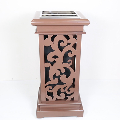Outdoor Waste Bin with Iron Coated for Garden (HW-04H)