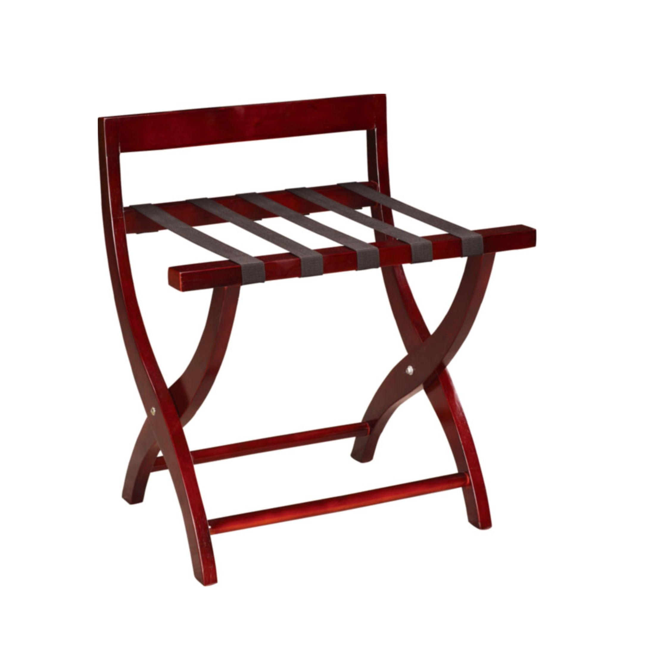 Wooded Luggage Rack with Five Belts for Guestroom (CJ-09A)