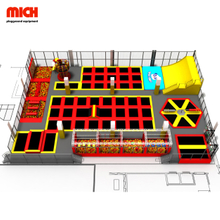 Cheer amusement big indoor children trampoline park