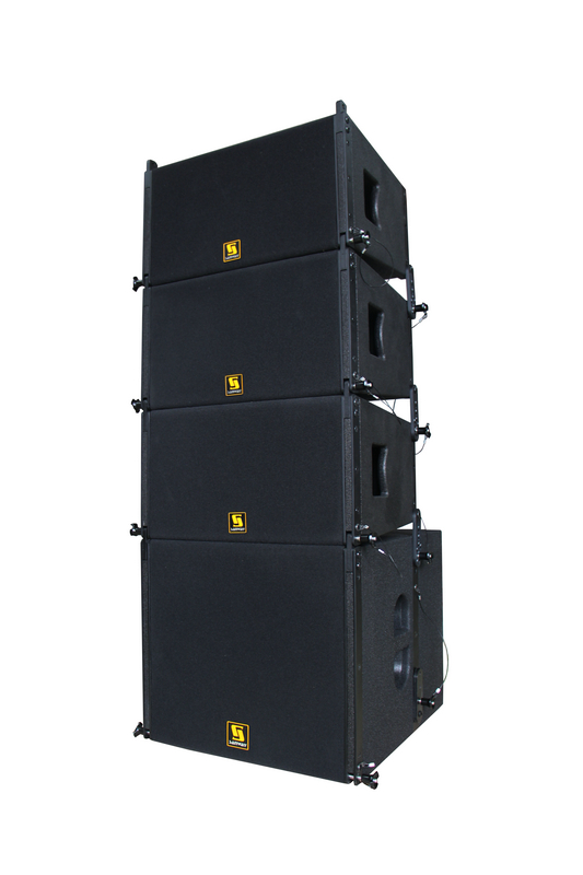 VR10 y S30 Powered Line Array System