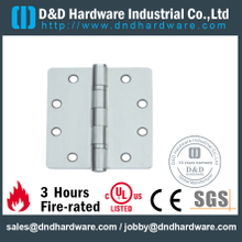 Grade 316 Stainless Steel Round Corner Mortise Hinge for Fire Door - DDSS006