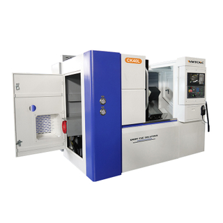35 Degree Slant Bed CNC Lathe Machine CK40L with 4500rpm