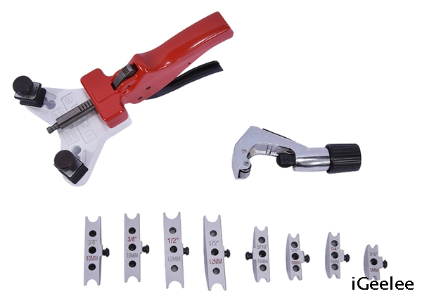 Manual Pipe Bending Tool WK-666 for 5-12mm O.D. Tubing Bend Up To 90 Degrees.