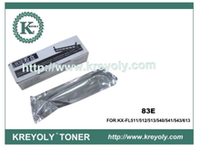Compatible Black Toner Cartridge for Panasonic 83E