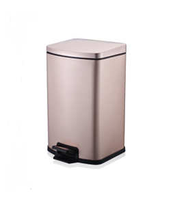 Square Shape Stainless Steel Step on Trash Can (KL-013)