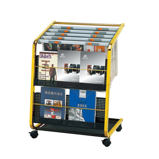 Information Stand with Magazine or Newspaper for Lobby (CJ-07)