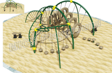 Kids Climbing Children Playground Equipment 1109A
