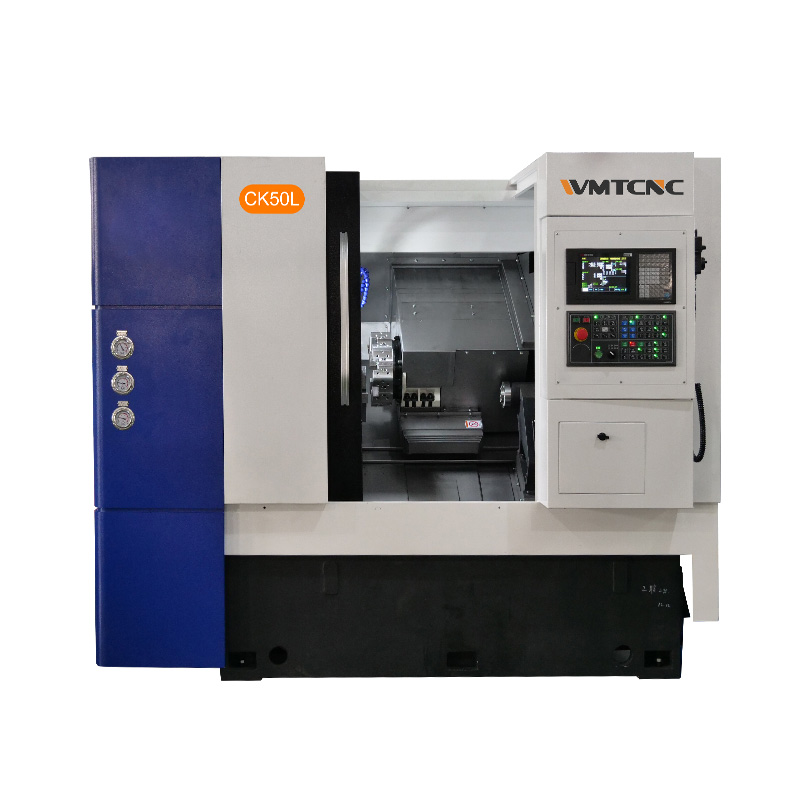 CK50L 500mm Swing over Bed CNC Turning Machine for Metal