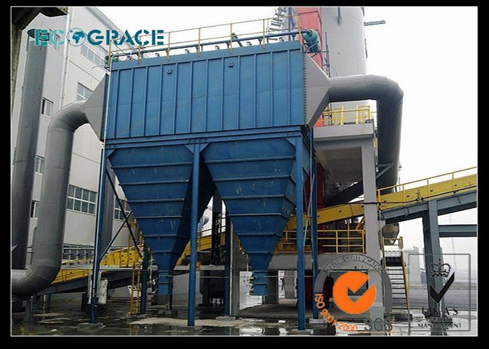 Metal Smelting Furnace Steel Works Flue Gas Filtration System Dust Collector