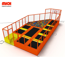 Commercial mini fitness jumping trampoline for children