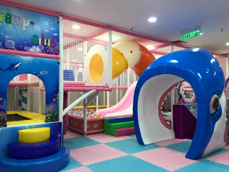Set Playground Indoor di McDonalds di Singapura