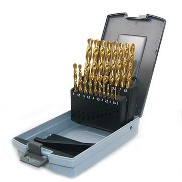 19PCS TWIST DRILL SET