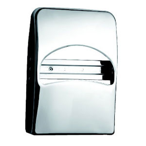 Stainless Steel 1/4 Toilet Paper Dispenser used in lounge KW-A45