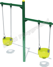 Outdoor playground baby swing 1113A