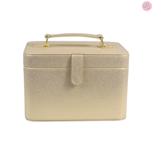 Gift Promotion PU Leather hard luggage case for cosmetic