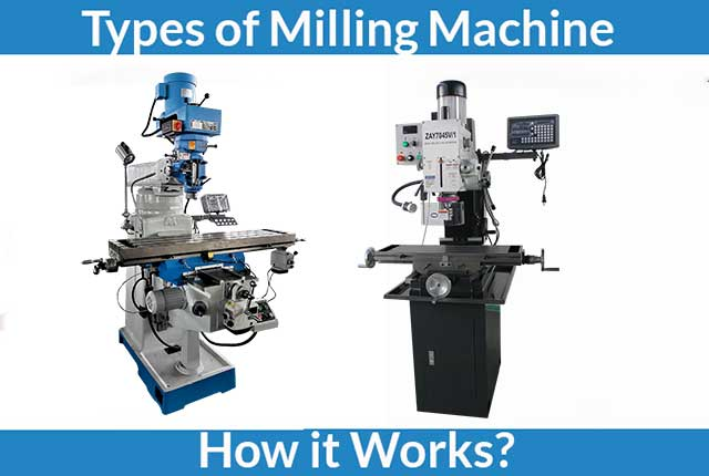 Different Types of Milling Machine