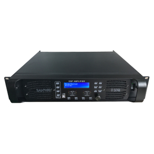 D10Q 4CH Sound Audio Digital DSP Amplificador de potencia con Ethernet