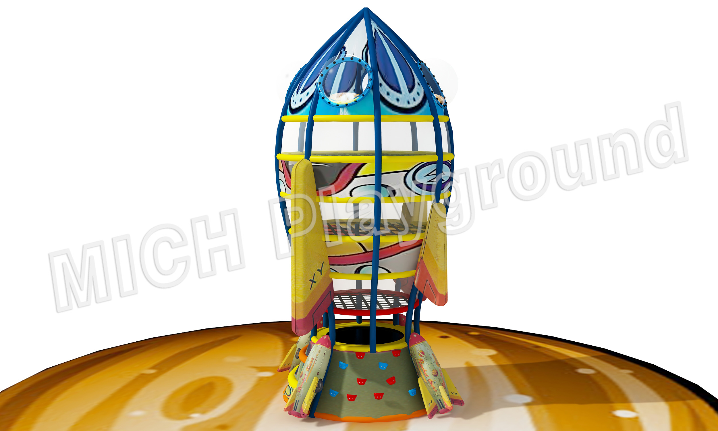 Mich Funny Indoor Amusement Playground 6615A