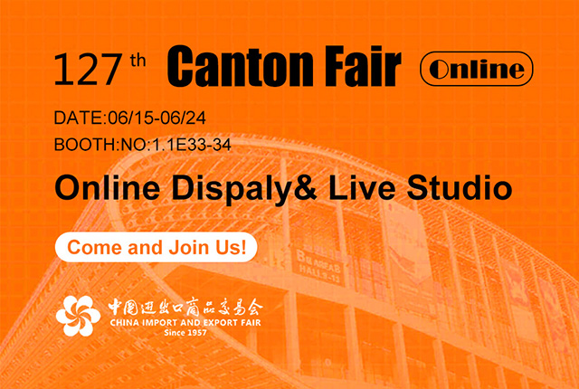 Take Your Part in | the 127th Canton Fair Online‎