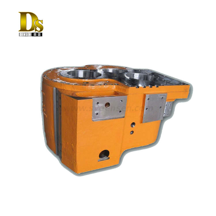 Casting Alloy Steel Large Gearbox Housing for Oil Drilling Platform
