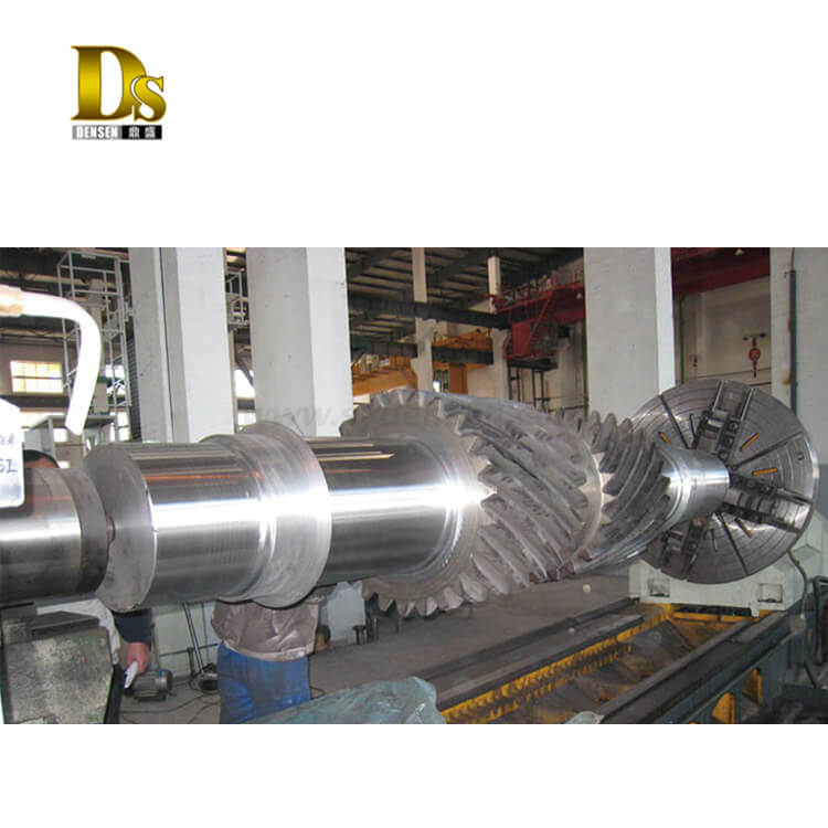 Customized SAE 4340 Forged Steel Shaft for Gears