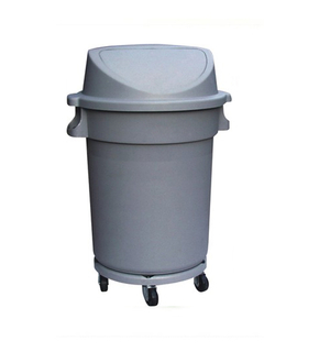 Four Wheels with Plastic for Waste Bin (KL-023)